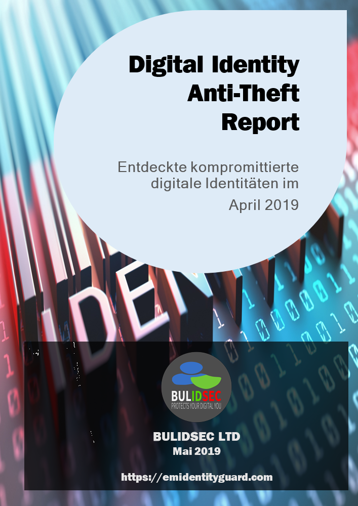 BULIDSEC Digital Identity AntiTheft Report April 2019