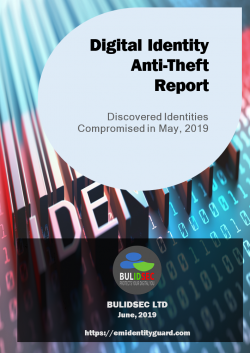 Digital Identity Anti-Theft Report May 2019