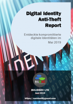 BULIDSEC Digital Identity AntiTheft Report Mai 2019